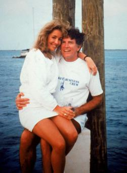 Donna Rice and Gary Hart