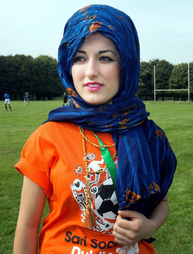 Sheler Wassi from Tallaght took part in the Sari Soccerfest weekend in the Phoenix Park in Dublin