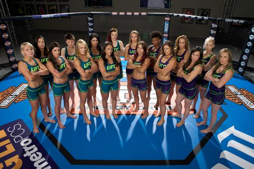 Aisling is currently starring in the new series of the hit US reality show The Ultimate Fighter, which pits the world number three against 15 other top professional female fighters in weekly televised cage fights