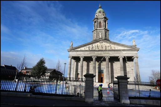 The newly restored St Mels Cathedral
