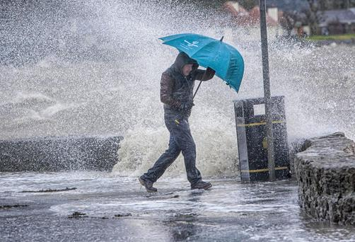 An unsettled Thursday morning has dumped showers across the country
