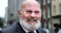 Lonely battle: David Norris fought for gay rights