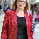 Jan O'Sullivan,TD,the Minister for Education and Skills at Leinster house