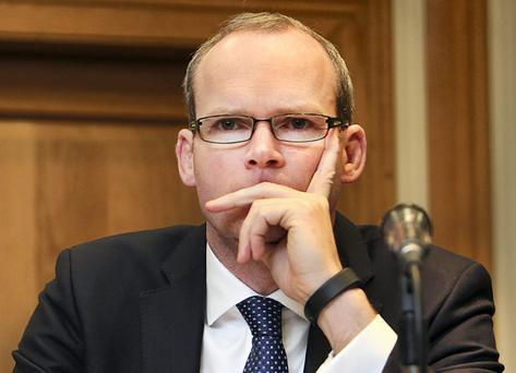 Simon Coveney. Photo: Steve Humphreys