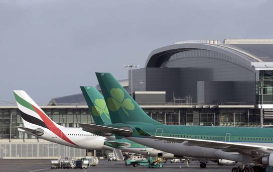 WE'RE ALL GOING ON A SUMMER HOLIDAY: Dublin Airport, above, is facing its busiest summer since 2008