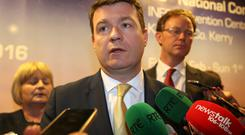 Housing Minister Alan Kelly