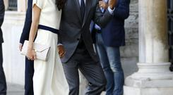 George and Amal Clooney, coming to Ireland for holidays - and a bit of legal work
