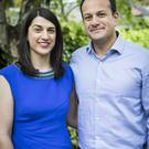 Sonia and Leo Varadkar