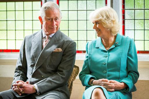 The Prince of Wales and The Duchess of Cornwall attend a welcome reception at the Nation University of Ireland in Galway