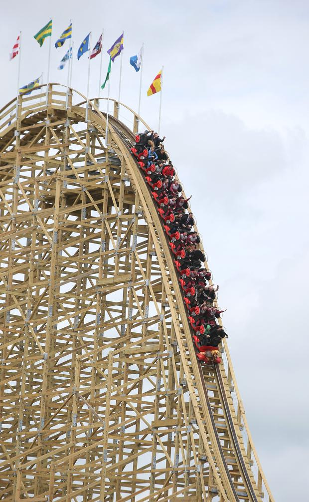Image result for cu chulainn roller coaster