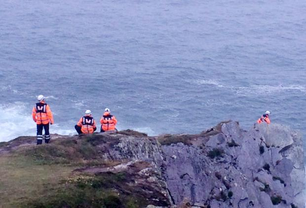 Emergency services, Irish Coastguard and the RNLI pictured near Baltimore, Co. Cork (Photo: Paul Cunningham/Provision)