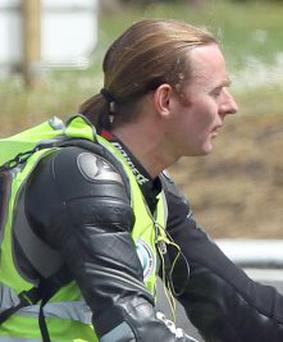 MOTORCYCLE MEDIC: Dr John Hinds died tragically after the Skerries 100