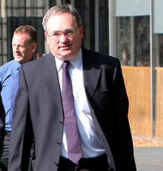 Brendan McDonagh, chief executive of Nama, arrives for the PAC meeting at Leinster House last week