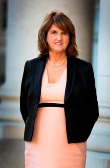 Labour leader and Tánaiste Joan Burton