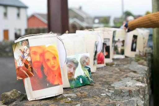 The community and young people from near and far all met at Baltimore Community Hall to build lanterns for a candlelit vigil walk through the village up to the beacon to remember Barry Davis Ryan & Niamh O' Connor & Barry Ryan