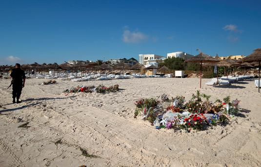 Irish people have been warned not to travel to Tunisia unless it is absolutely necessary