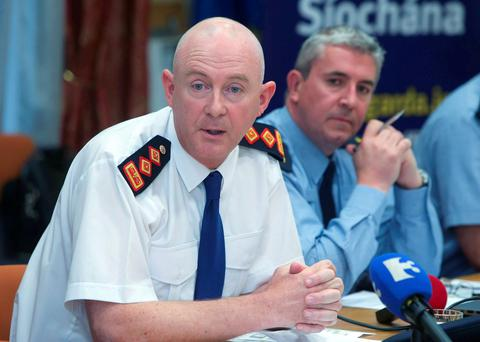Chief Superintendent Mark Curran of the Garda National Traffic Bureau and Gda Derek Cloughley outlining a number of cases they have dealt with since the introduction of the new powers to deal with disqualified drivers