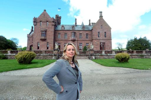 Emma Cormack at Castle Oliver, which sold recently for around €3m