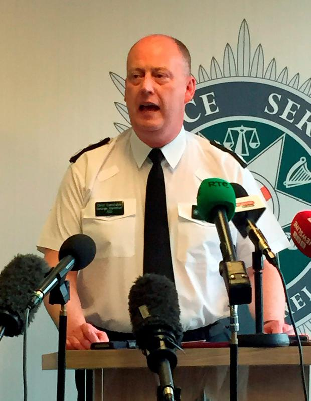 IRA ARE ACTIVE: PSNI chief constable George Hamilton