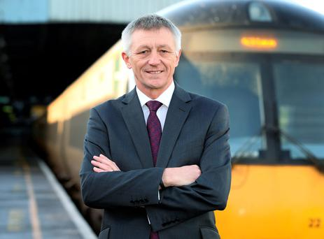 Irish Rail chief executive David Franks