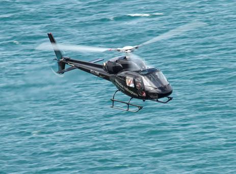 One of the Executive Helicopters fleet