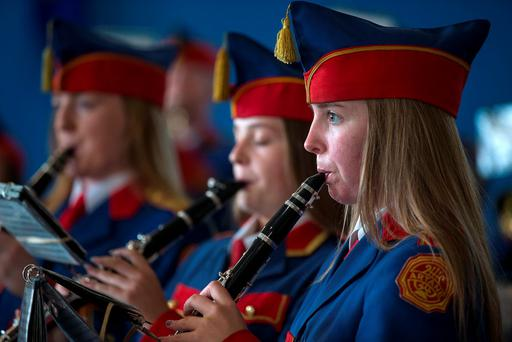 Artane Band's Aoife Moore
