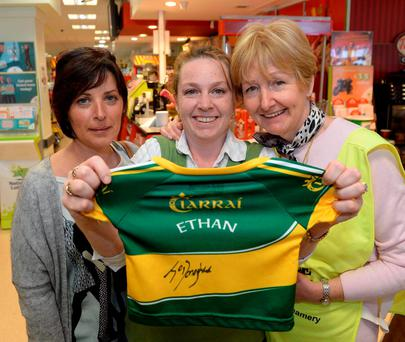 Colette Boyle, Caroline Williams and Mary Levy at Jones's Eurospar/ Kerry Hospice Coffee morning in Killorglin