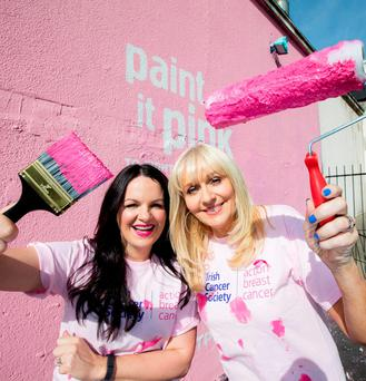 RTE's Miriam O'Callaghan and TV3's Triona McCarthy have each lost a sister to cancer and will 'Paint it Pink' during Breast Cancer Awareness Month. To join the fight against breast cancer this October, visit www.paintitpink.ie