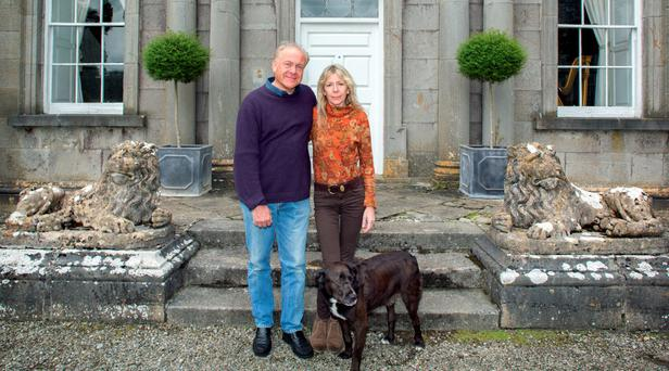Patrick Guinness with his wife Liz at their home Furness House in Johnstown, Co. Kidare