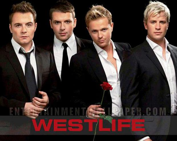 'Syrupy song': Westlife members Shane Filan, Marcus Feehily, Nicky Byrne and Kian Egan