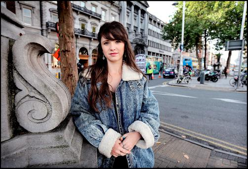 Jenny Stanley from Portmarnock in Dublin who was subjected to verbal abuse as she walked from Camden Street to Eden Quay in Dublin City Centre on a Saturday night