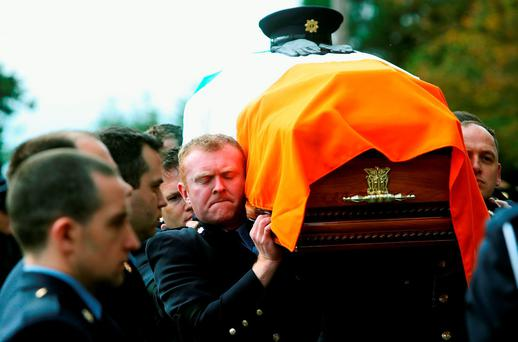 Garda Tony Golden's funeral took place on Thursday