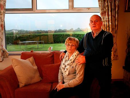 Stephen and Breege Quinn want justice for their son Paul, who was brutally murdered by a south Armagh IRA gang