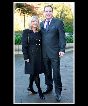 Alan Cantwell with his wife Denise