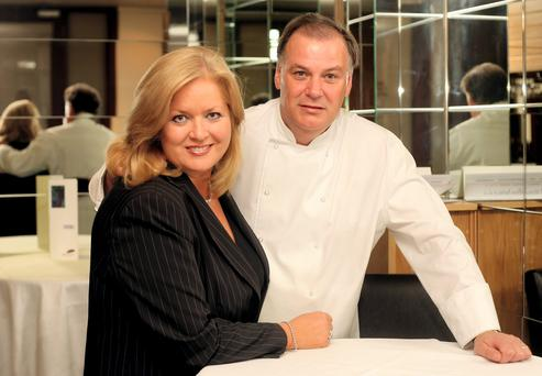 Sallyanne Clarke who runs L'Écrivain in Dublin with her chef husband Derry