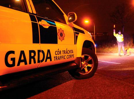 Checkpoint: gardaí on patrol