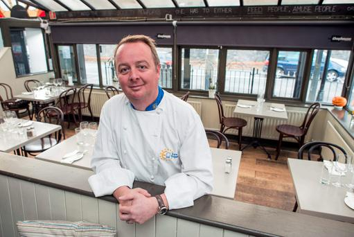Chef Kevin Arundel of The Chophouse Gastro Pub on the Shelbourne Road in Ballsbridge, Dublin 4: 'It's about cooking really good ingredients properly, with respect'