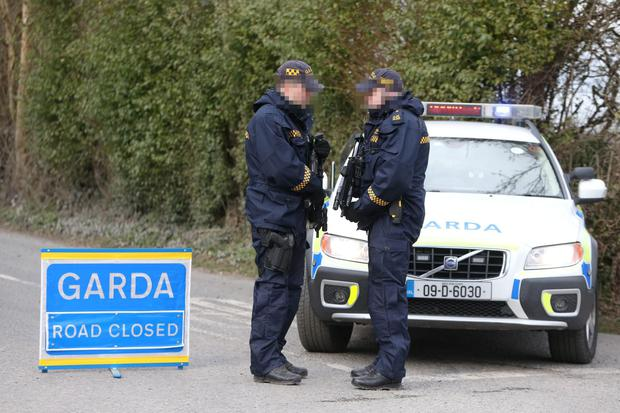 Yesterday saw the introduction of checkpoints across the country as part of the pan-European operation (Stock picture)