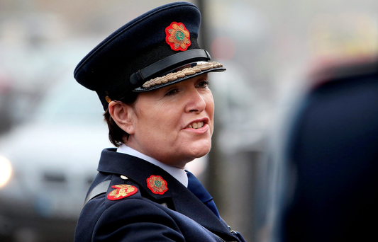 Garda Commissioner Nóirín O'Sullivan has previously announced that the organisation hopes to recruit 600 new members in 2016. Photo: Steve Humphreys