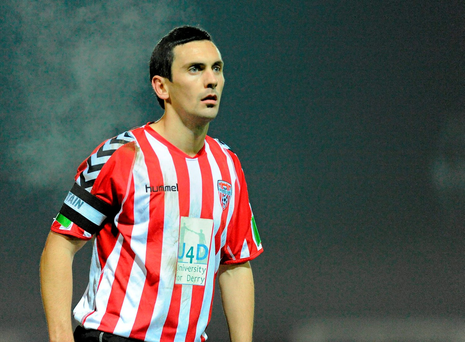 Mark Farren was Derry City's leading goalkeeper. Photo: Sportsfile