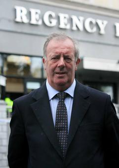 Witness: Regency Hotel manager John Glynn. Photo: Collins