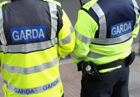 Gardai officers have told members of the public that they are putting