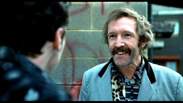 Johnny Murphy as Joey 'The Lips' in 'The Commitments'.