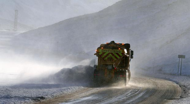 Temperatures to plummet to -6 degrees tonight - and fog warning remains in place