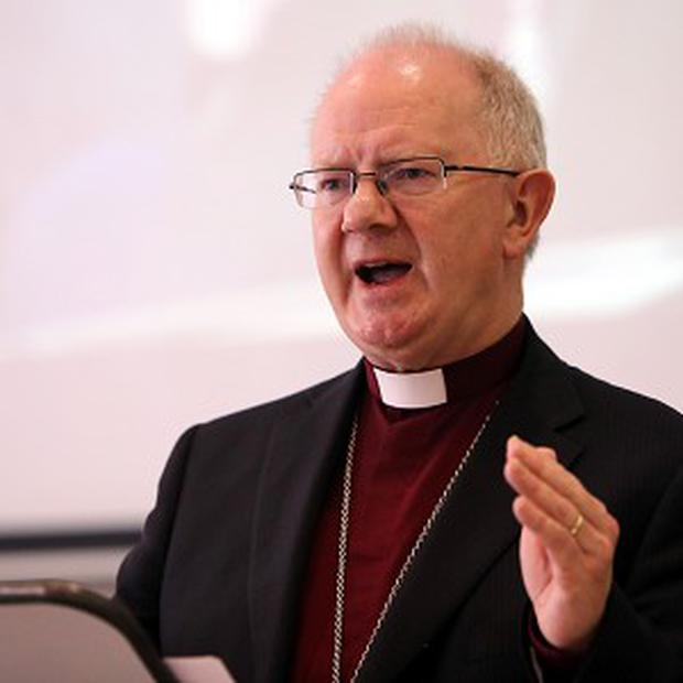 Church of Ireland primate Dr Richard Clarke. Photo: PA