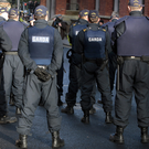 Members of the Garda public Order Unit