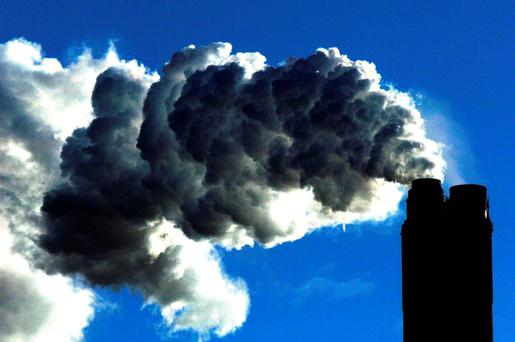 Energy accounts for 60pc of Ireland's total greenhouse gas emissions. Photo: PA