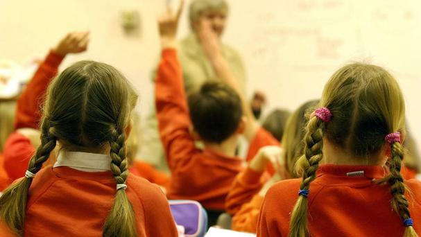 DEIS currently covers about one in four of the country's schools, at both primary and post-primary level, through measures such as lower pupil-teacher ratios, additional funding and school meals. (Stock pic)