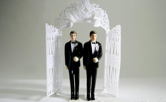 The most popular date for opposite-sex couples to marry is Saturday, July 30. Stock picture