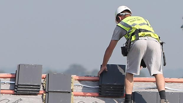 Mr McCartin says a lack of construction workers is making us less competitive (Stock image)